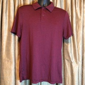 32 Degrees Cool Waterproof Polo Shirt in Burgundy